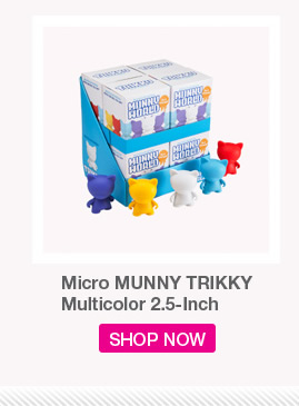 Micro MUNNY TRIKKY Multicolor 2.5-inch.  Shop Now