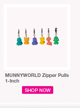 MUNNYWORLD Zipper Pulls 1-inch.  Shop Now
